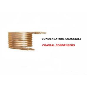 Condensatore ad acqua coassiale CCA 6